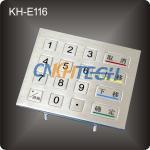 Vending Kiosk stainless steel Keypad Manufactures