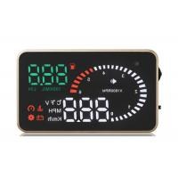 Bear 120 Degree BMW X6 Heads Up Car Display Over Speed Warning Fuel Consumption Car Alarm System Manufactures