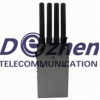 High Power Portable GPS and Cell Phone Jammer with Carry Case Manufactures