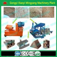 CE approved No binder biomass wood sawdust rice husk briquette making machine Manufactures