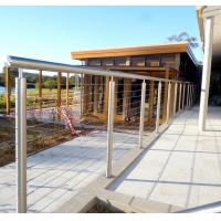 Outdoor Metal Stair Railing, Prices of stainless steel balcony railing Manufactures