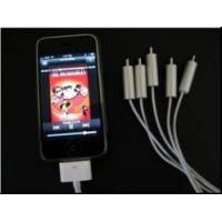 AV+USB Cable for iPhone 3G 2.2 IPA101 Manufactures
