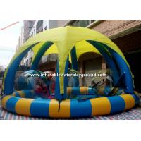 Kids PVC Fabric Inflatable Water Pool Tent For Water Ball / Water Games Manufactures