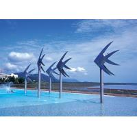 Sea Fish Commercial Water Features , Swimming Pool Water Features Stainless Steel Manufactures
