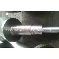 4140 34CrNiMo6 4340 Alloy Steel Metal Forgings Shaft Blank Rough Machined For Wind Power Industry Manufactures