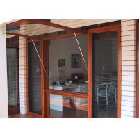 Customized Type Aluminium Awning Windows with Rubber Seal / Powder Coating Manufactures