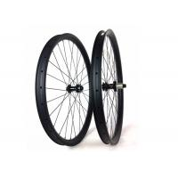 Downhill Mtb Wheels Clincher , 40MM*30MM Tubuless Carbon Mtb Wheelset 29  Manufactures