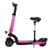 Portable Alloy Frame Lithium Battery Electric Scooter , Folding Electric Powered Scooter Manufactures