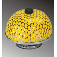 Yellow Racing Car Activated Carbon Air Filter High - Flow , 1 Year Warranty Manufactures