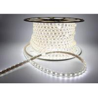 Single Color Led Flexible Strip Lights White 6000k 8w With Smd5050 Chip Manufactures