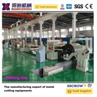 Buy cheap CR 3 x 1600 Steel Coil Slitting Machine 15T Decoiler And Recoiler from wholesalers