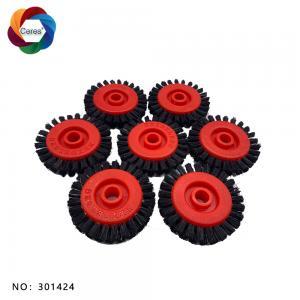 2020 nylon brush wheel 50*8*11 for offset printing machine Manufactures