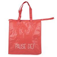 China Red Eco Friendly Polythene Bags / Small Waterproof Custom Polypropylene Bags on sale