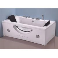 Innovative Technology Stand Alone Jetted Tub , 6 Foot Whirlpool Tubs For Small Bathrooms Manufactures