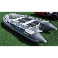 Lightweight 12 Feet Marine Inflatable Boats 5 Person With VIB Floor Manufactures