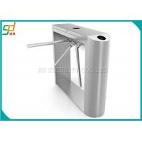 Quality Fingerprint Tripod Turnstile Gate Access Control Systems 24V DC Tcp IP for sale