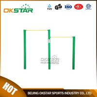 outdoor gym equipment Public Park Used Outdoor Simple Fitness Equipment Uneven Bars Manufactures