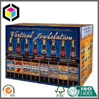 Matte CMYK Full Color Printed Beer Packaging Box; 24 Bottle Wine Corrugated Box Manufactures