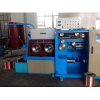 14DH Intermediate - Fine Wire Drawing Machine With Large Spool Pneumatic Brakes Manufactures