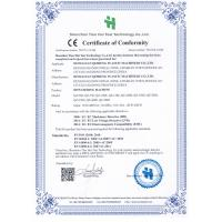 Dongguan Qizheng Plastic Machinery Co., Ltd. Certifications