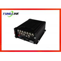 8-36V 4G Wireless HD Vehicle Mobile DVR 4 Channel With SD Card ESATA Manufactures