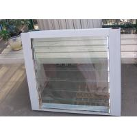 Quality Adjustable Aluminium Louvre Windows Heat Insulation Glass Louvre Ventilation for sale