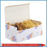 Quality Pre Glued Bottom Self Locking Food Grade Paper Packaging Box for Fried Potato for sale
