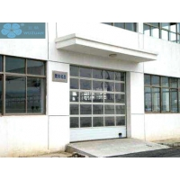 Buy cheap Sectional Overhead Organic Tempered Glass Sliding Garage Door from wholesalers