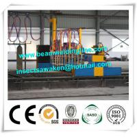 Professional CNC Plasma Cutting Machine , Flame H Beam Cutting Machine CE / ISO Manufactures
