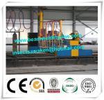Professional CNC Plasma Cutting Machine , Flame H Beam Cutting Machine CE / ISO Manufactures