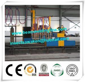 Quality Professional CNC Plasma Cutting Machine , Flame H Beam Cutting Machine CE / ISO for sale