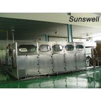 Pure Mineral Barrel 5 Gallon Water Filling Machine High Degree Of Automation Manufactures