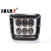 12 Led Automotive Led Work Light / Led Vehicle Work Light White Yellow Flashing Manufactures