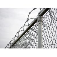 Galvanized chain link fence,wire mesh fence,fence for tennis court Manufactures