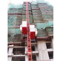 Passenger Hoist for Construction With 0-54m/min Lifting Speed Manufactures