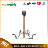 wooden street lamp outdoor fitness rider Manufactures