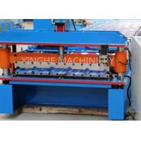 Galvanised Steel Sheets Corrugation Roof Panel Roll Forming Machine 12 Months Warranty Manufactures