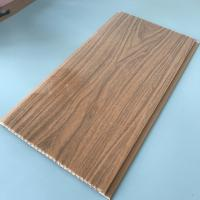 Quality 25cm Decorative Plastic Wall Panels , Wood Interior Wall Paneling Excellent for sale