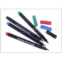 Colorful Wet Erase Pen for Temporary Marking on Plastic Easily Wiped Off by Wet Fabric Manufactures