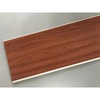 Eco Friendly PVC Wood Plastic Laminate Panels Flat Shape 250 × 8mm × 5.95m Manufactures