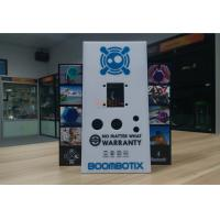 White Acrylic Retail Window Displays For Bluetooth Speaker Laser Engraving Manufactures