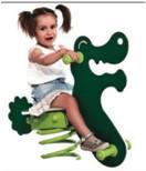outdoor playground galvanized steel children spring rider-ET-E07D Manufactures