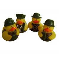 5cm Length Mini Rubber Ducks Squeezing Bee Design Baby Bath Time Fun Toy Manufactures