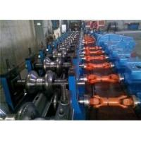 Automatic Highway W-Beam Guardrail Roll Forming Line 5-12m/Min Manufactures