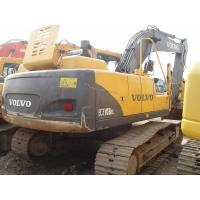 Quality 1.1cbm Bucket Volvo 210 Excavator For Sale , Second Hand Mini Diggers Year 2008 for sale