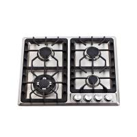 4  Burner / 6 Burner Gas Hob Built In Gas Cooktop with Stainless Steel Top Panel Manufactures