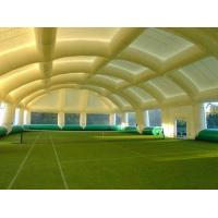 White Advertising Giant Inflatable Tents PVC Tarpaulin For Events / Exhibitions Manufactures