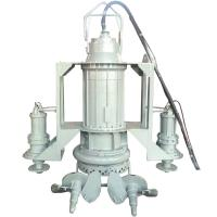High Chrome electric submersible sand dredge slurry pump with agitator Manufactures