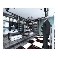 Commercial Retail Garment Shop Fittings High Grade Customized With Display Racks Manufactures