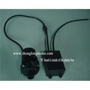 China 50-03b brushless DC hot water pump (Aluminium body) on sale